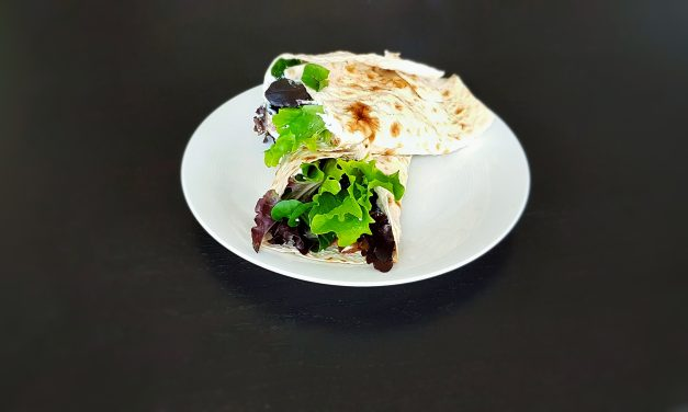 A very quick and healthier wrap option