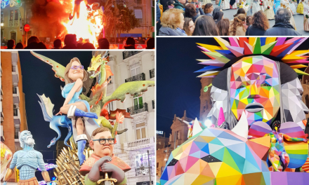 Super Crazy Three Weeks Fest. Fallas 2018 Valencia