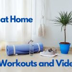 Quarantine period. Live workouts and videos